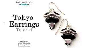 How to Bead Jewelry / Beading Tutorials & Jewel Making Videos / Earring Projects / Tokyo Earrings Tutorial