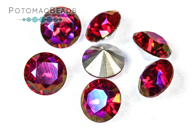 Other Beads & Supplies / Crystals / Potomac Crystal Chatons 8mm (SS39)