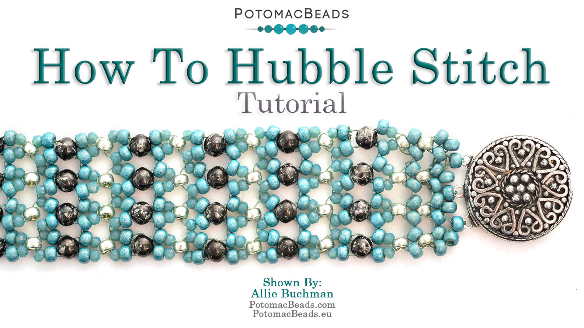 How to Bead Jewelry / Beading Tutorials & Jewel Making Videos / Bracelet Projects / How to Hubble Stitch