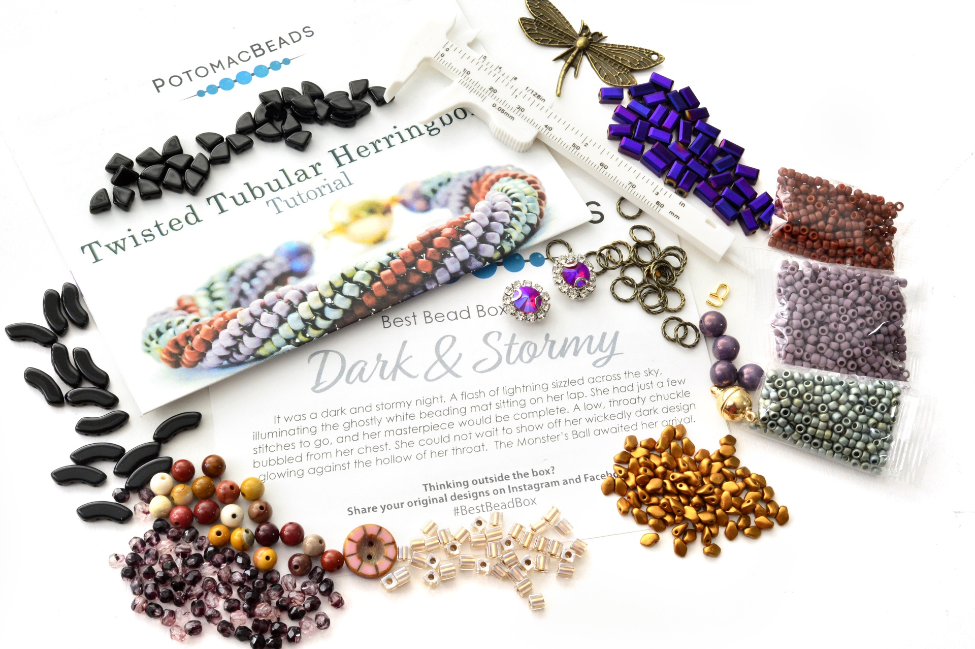 Subscription Inspiration / Best Bead Box October 2020