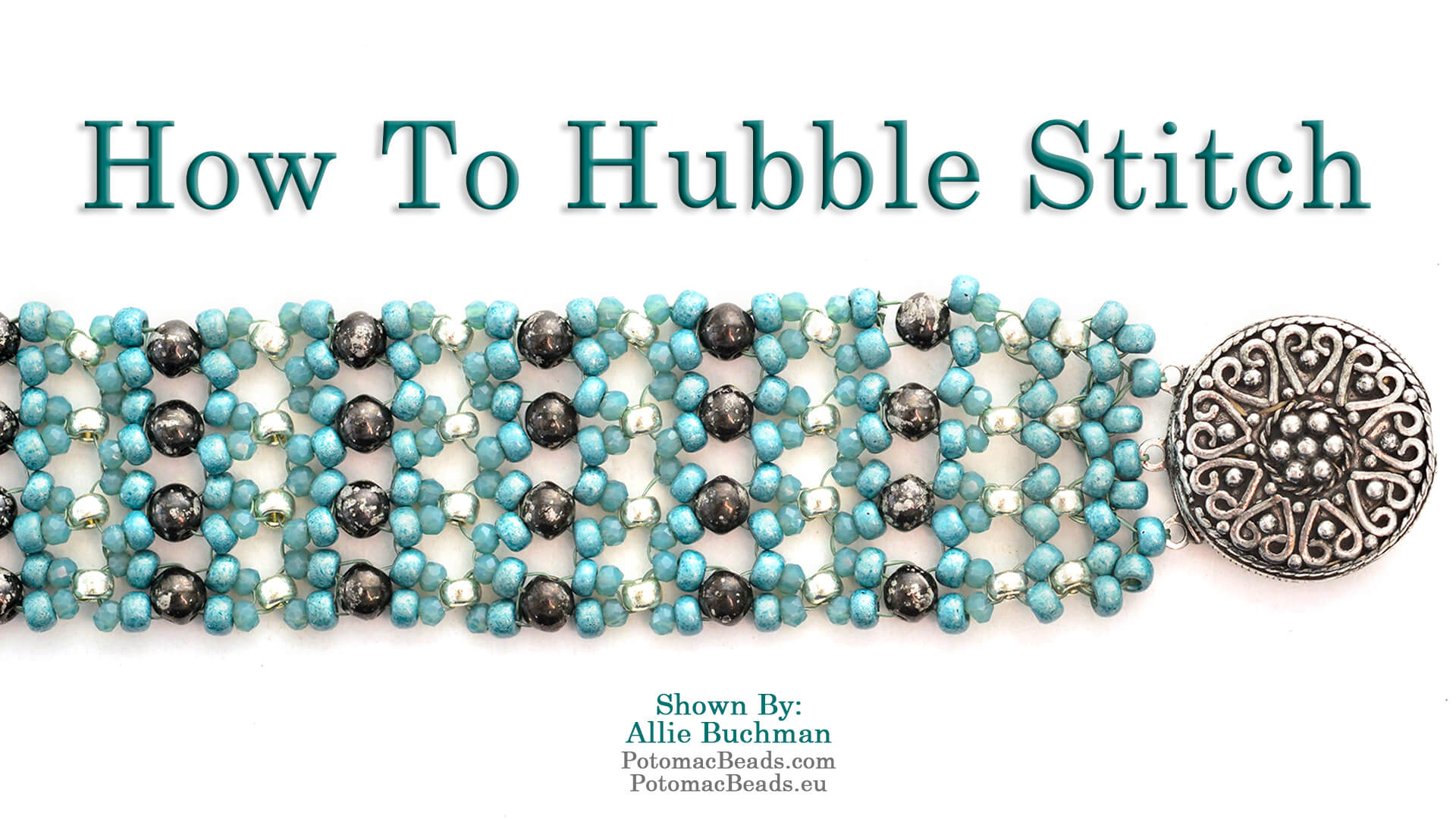 How to Bead Jewelry / Videos Sorted by Beads / Potomac Crystal Videos / How to Hubble Stitch
