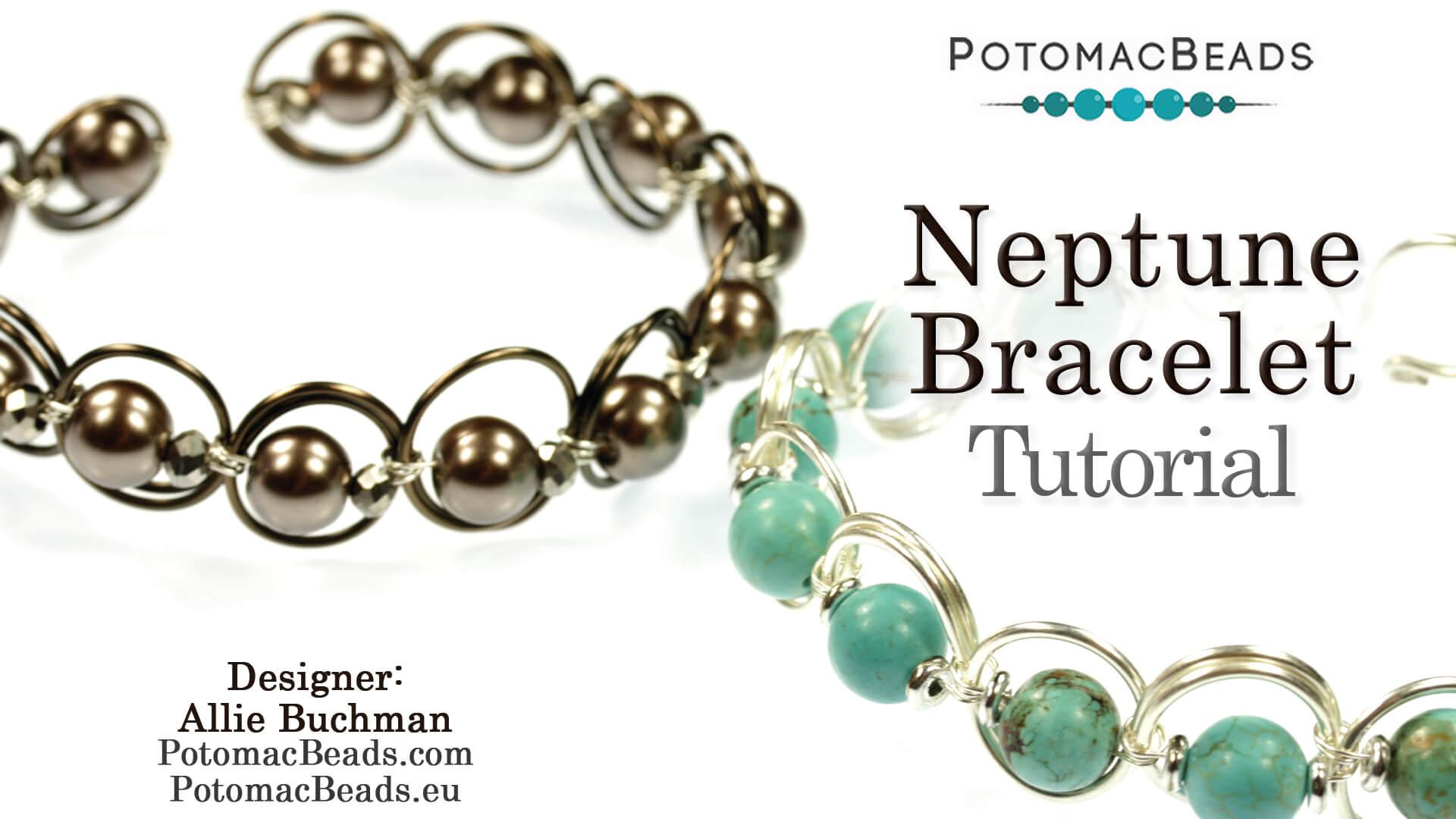 How to Bead Jewelry / Beading Tutorials & Jewel Making Videos / Bracelet Projects / Neptune Bracelet