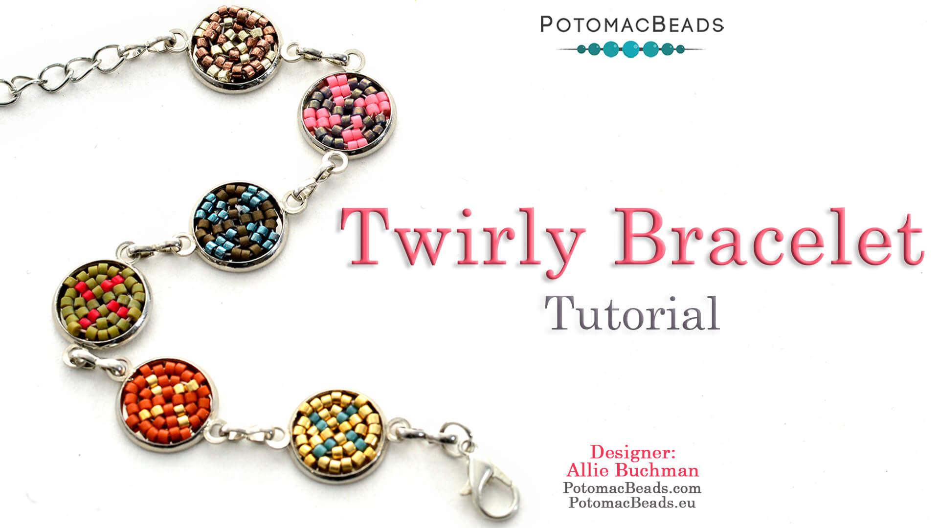 How to Bead / Free Video Tutorials / Bracelet Projects / Twirly Bracelet Tutorial