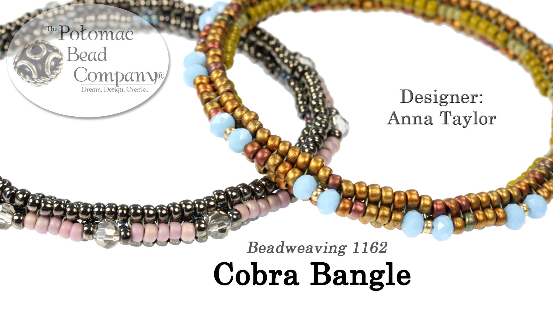 How to Bead Jewelry / Beading Tutorials & Jewel Making Videos / Bracelet Projects / Cobra Bangle Tutorial