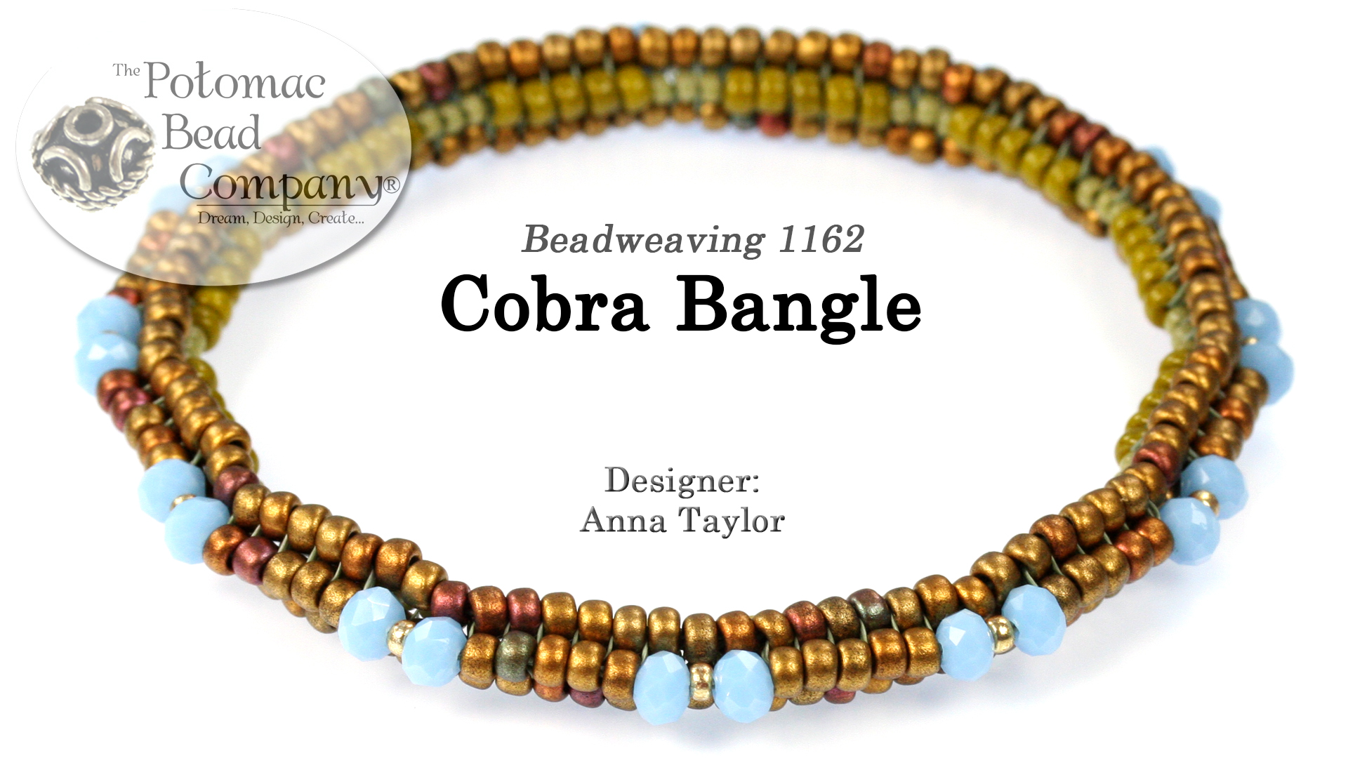 How to Bead Jewelry / Videos Sorted by Beads / Potomac Crystal Videos / Cobra Bangle Tutorial