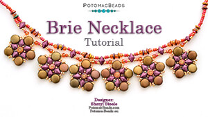How to Bead Jewelry / Videos Sorted by Beads / Potomac Crystal Videos / Brie Necklace Tutorial