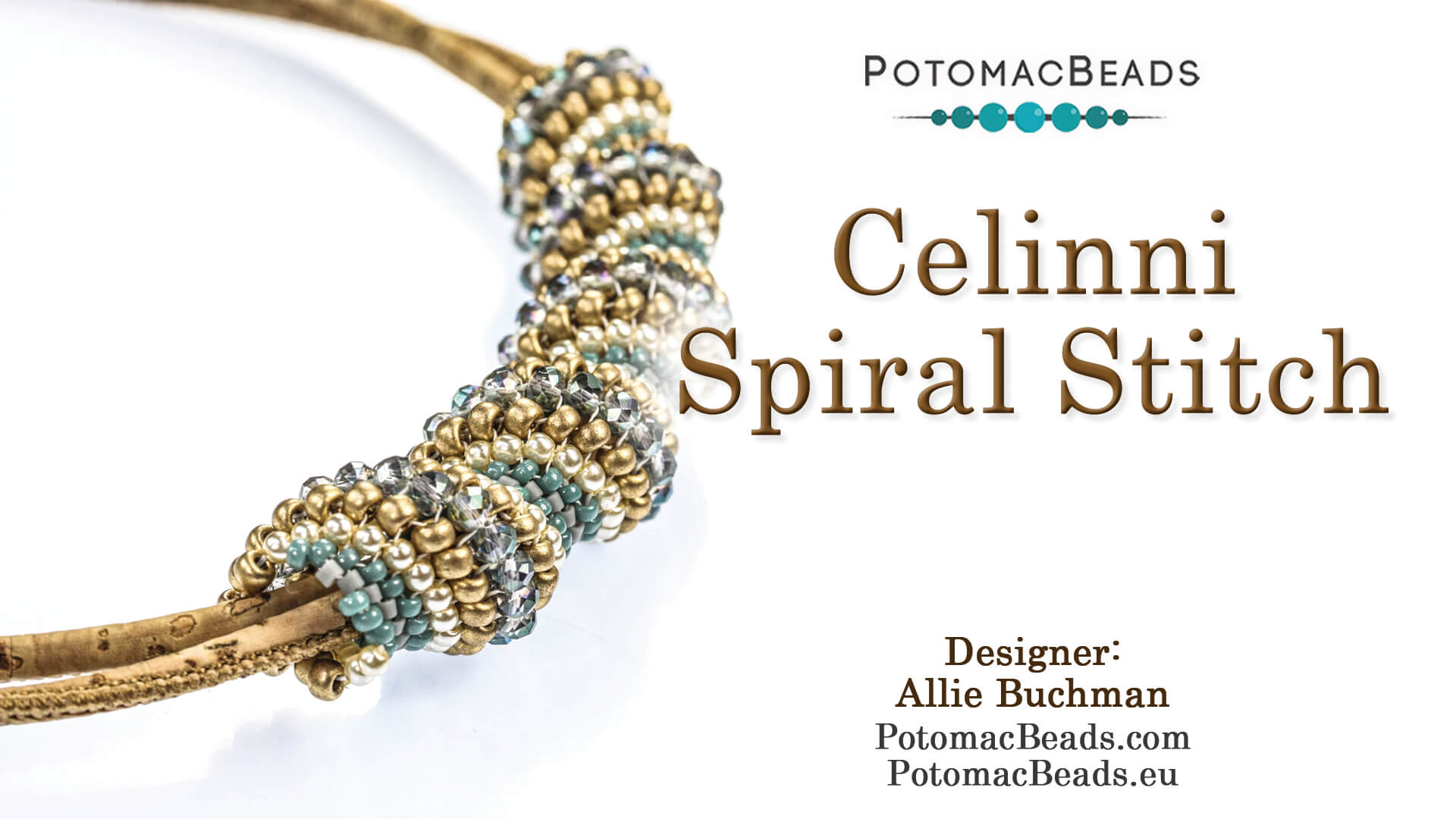 How to Bead / Free Video Tutorials / Bracelet Projects / Celinni Spiral Stitch Tutorial