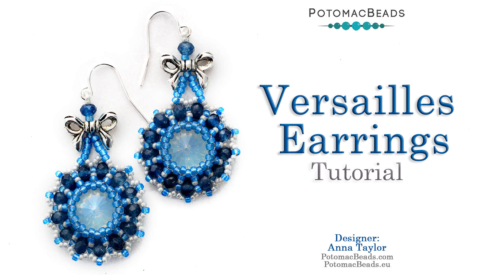 How to Bead / Free Video Tutorials / Earring Projects / Versailles Earrings Tutorial