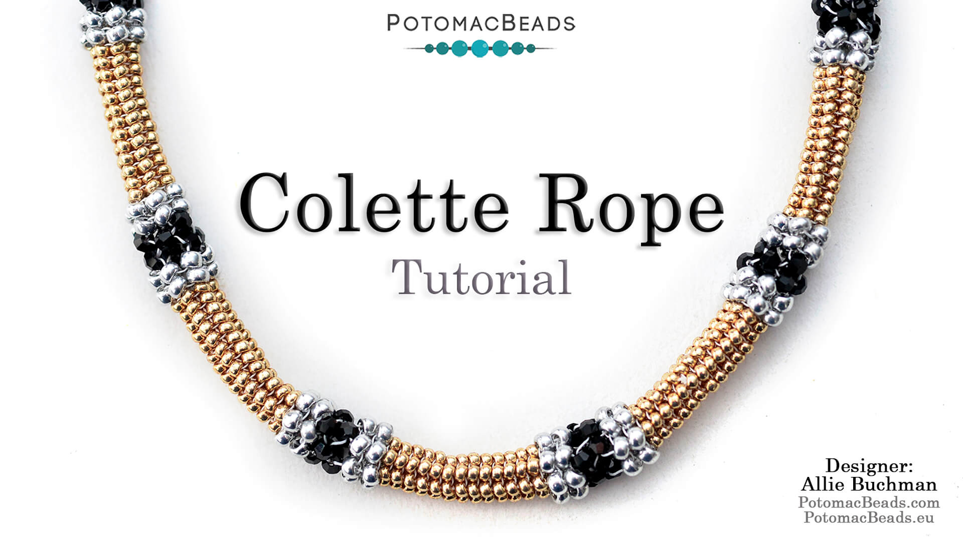 How to Bead Jewelry / Videos Sorted by Beads / Potomac Crystal Videos / Colette Rope Tutorial