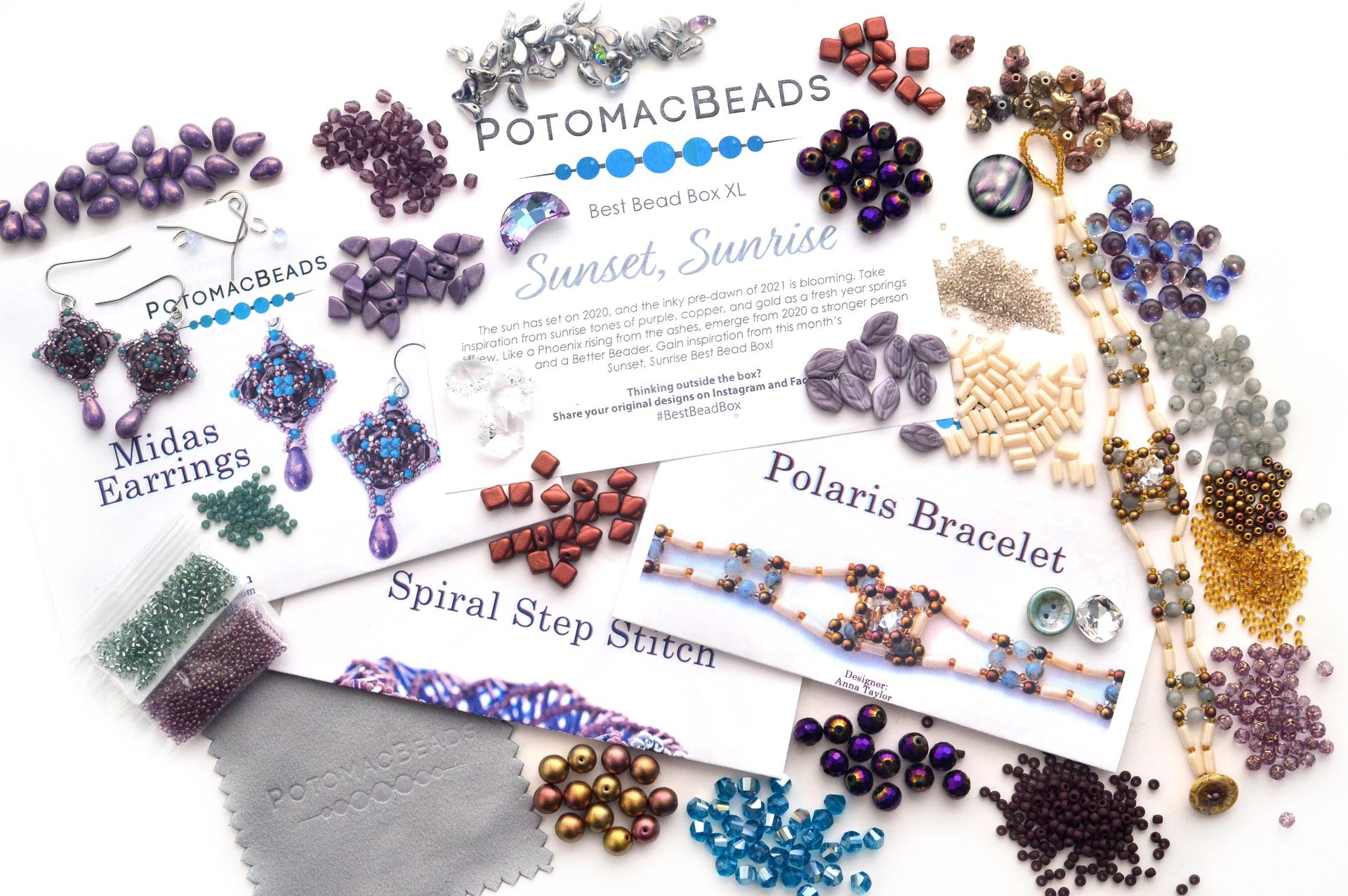 Subscription Inspiration / Best Bead Box January XL 2021