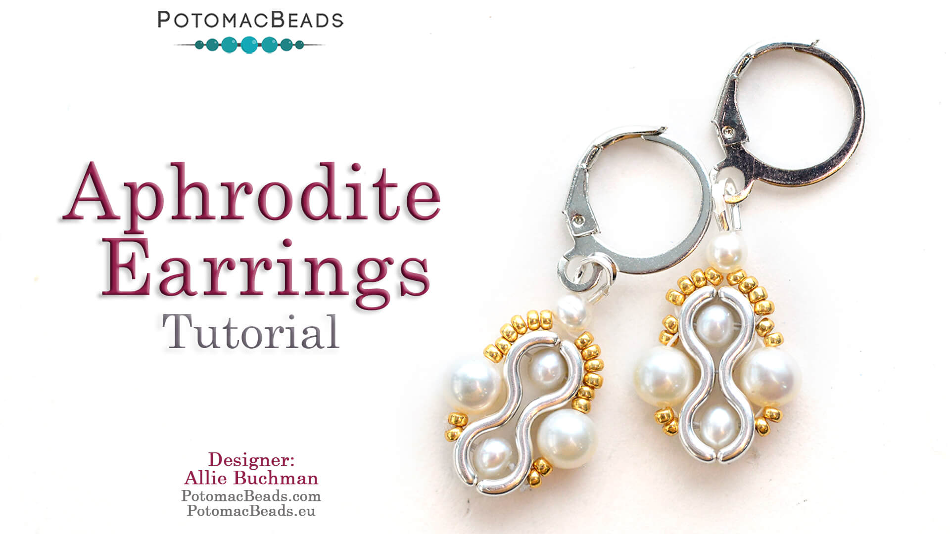 How to Bead / Free Video Tutorials / Earring Projects / Aphrodite Earrings Tutorial