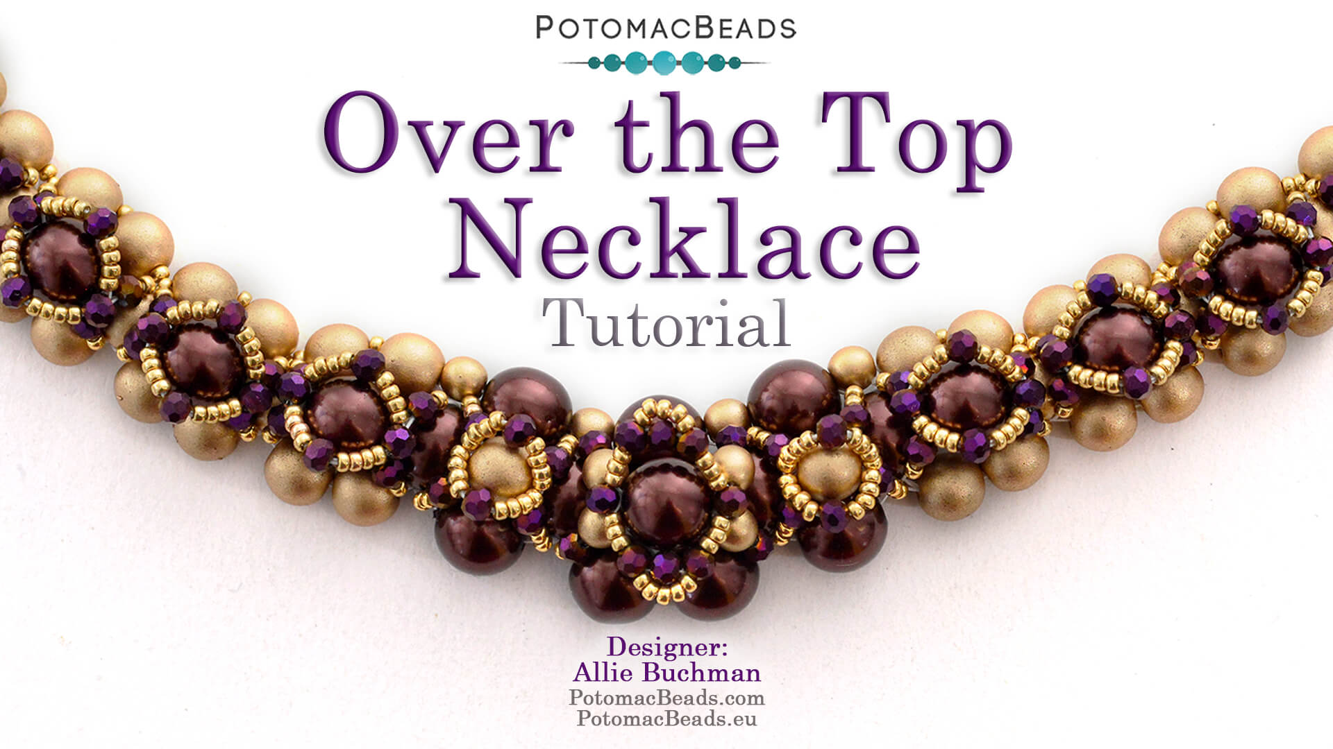 How to Bead / Videos Sorted by Beads / Pearl Videos (Czech & Freshwater) / Over the Top Necklace Tutorial