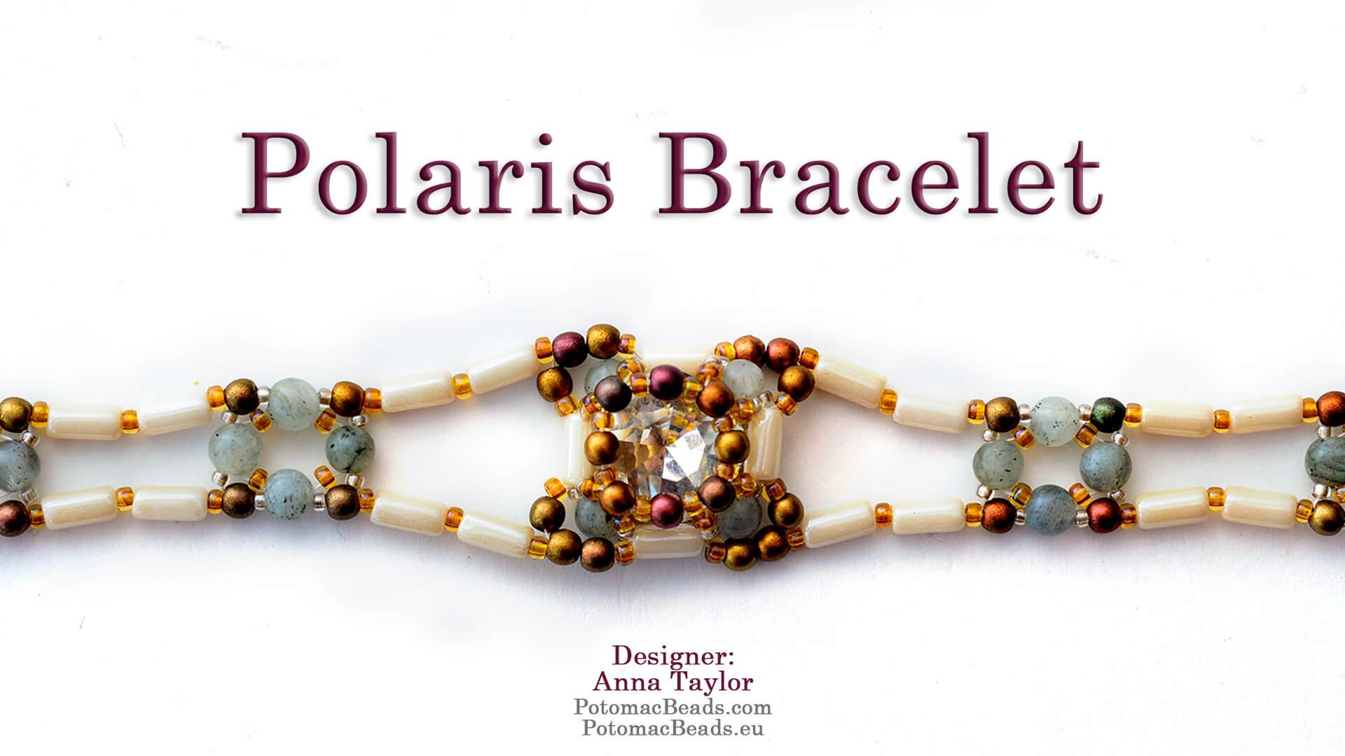 How to Bead Jewelry / Beading Tutorials & Jewel Making Videos / Bracelet Projects / Polaris Bracelet Tutorial