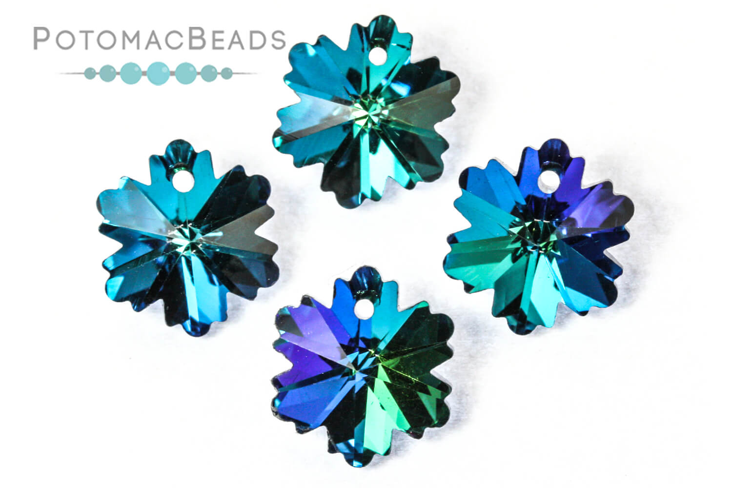 Jewelry Making Supplies & Beads / Beads and Crystals / Potomac Crystal Snowflakes