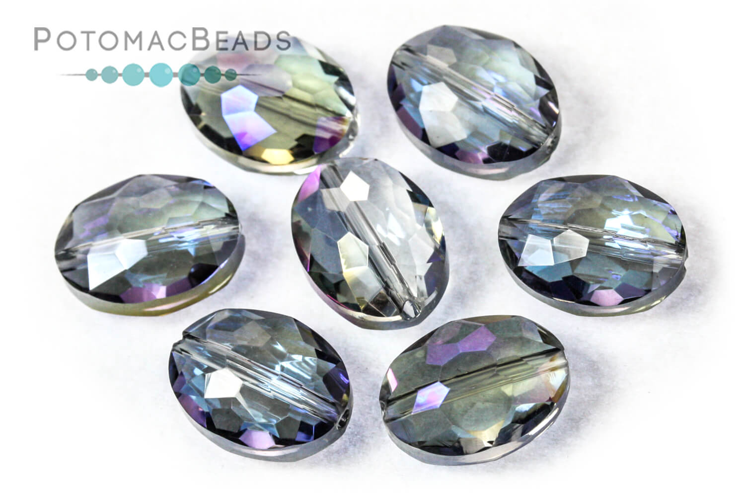 Jewelry Making Supplies & Beads / Beads and Crystals / Potomac Crystal Oval Nugget Beads