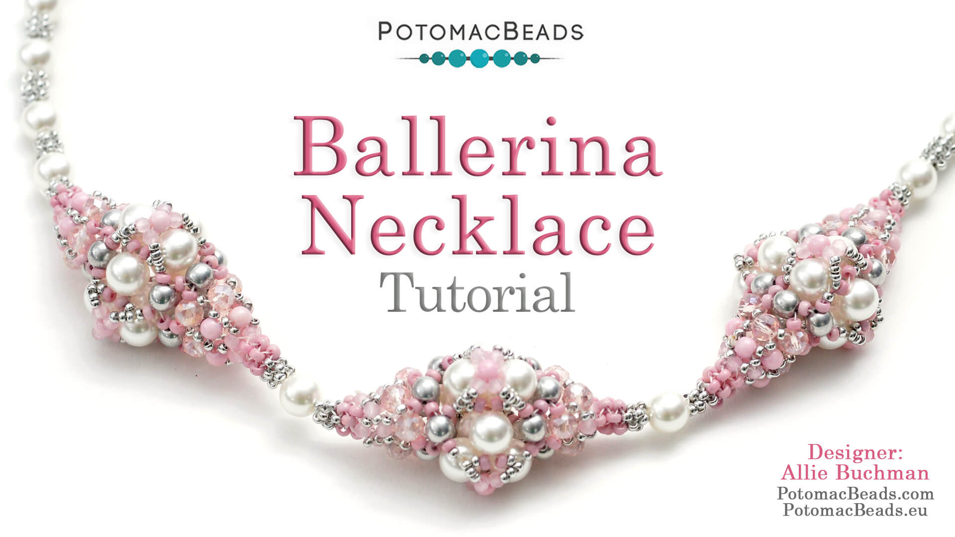 How to Bead Jewelry / Videos Sorted by Beads / Pearl Videos (Czech, Freshwater, Potomac Pearls) / Ballerina Necklace Tutorial