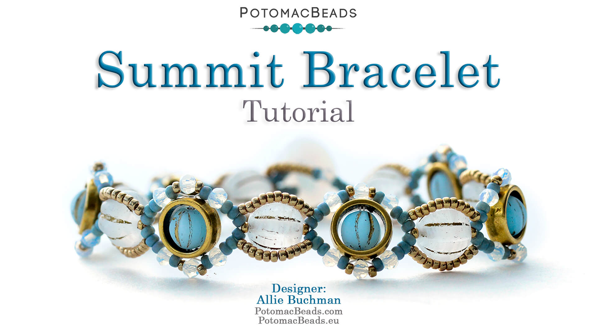 How to Bead / Videos Sorted by Beads / Potomax Metal Bead Videos / Summit Bracelet Tutorial