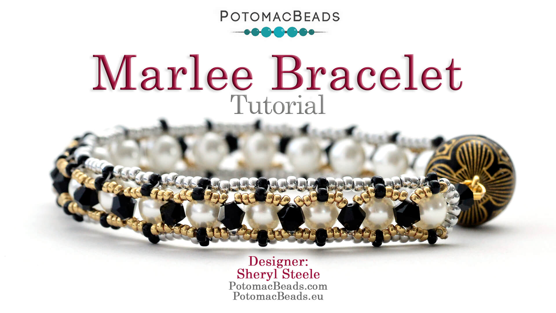 How to Bead Jewelry / Videos Sorted by Beads / Pearl Videos (Czech, Freshwater, Potomac Pearls) / Marlee Bracelet Tutorial