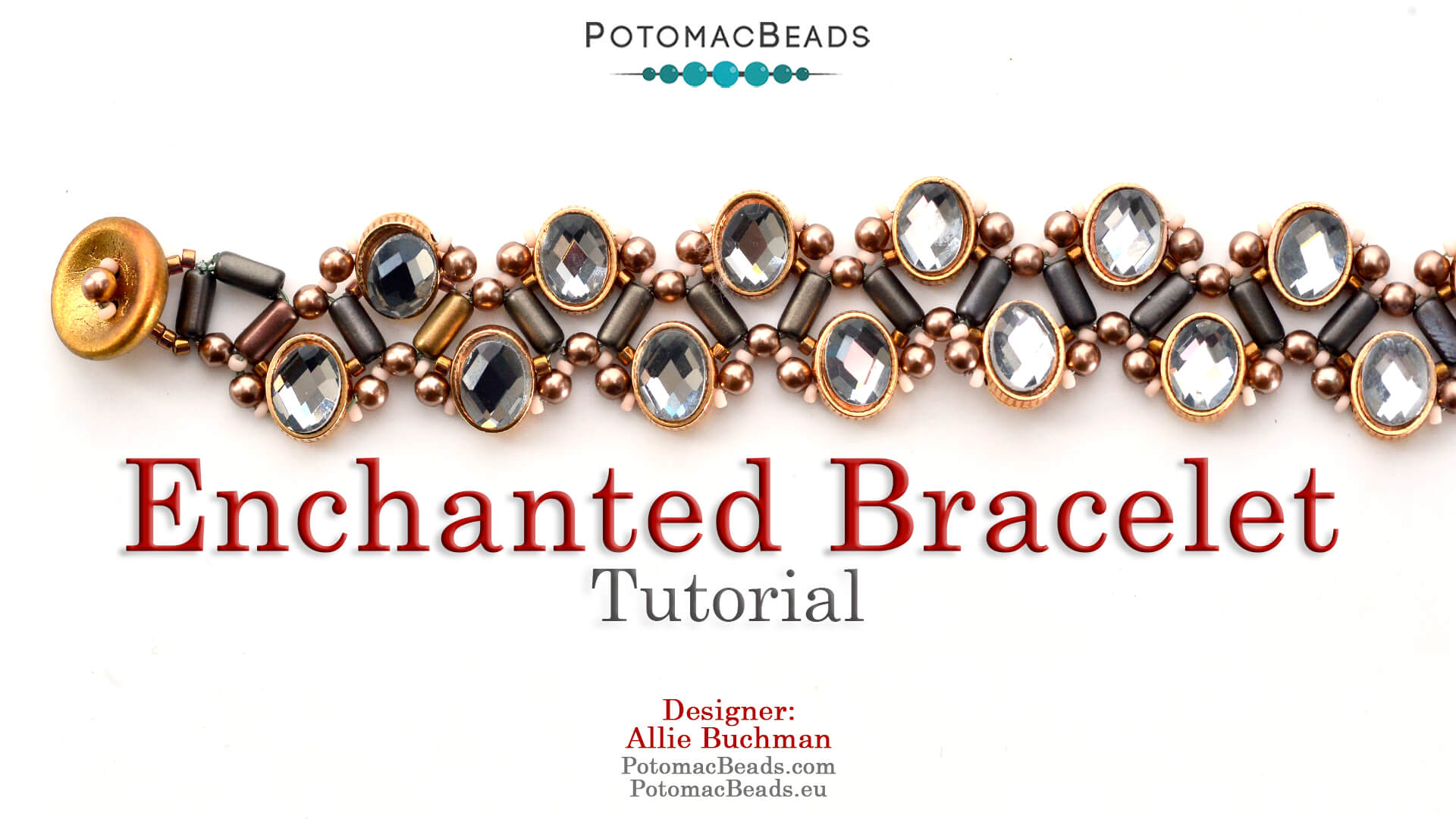 How to Bead Jewelry / Videos Sorted by Beads / Pearl Videos (Czech, Freshwater, Potomac Pearls) / Enchanted Bracelet Tutorial