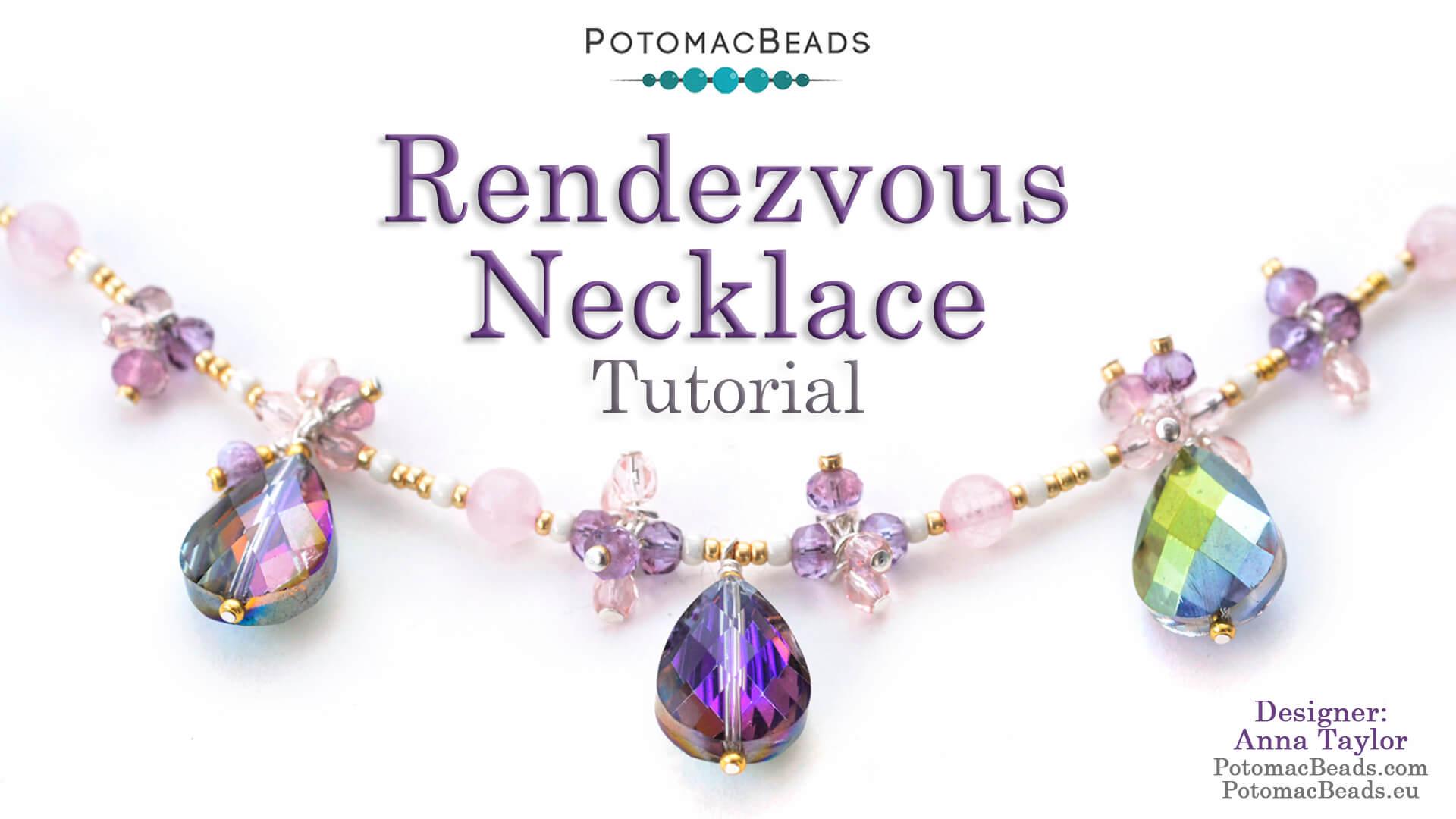 How to Bead Jewelry / Beading Tutorials & Jewel Making Videos / Bead Weaving Tutorials & Necklace Tutorial / Rendezvous Necklace Tutorial