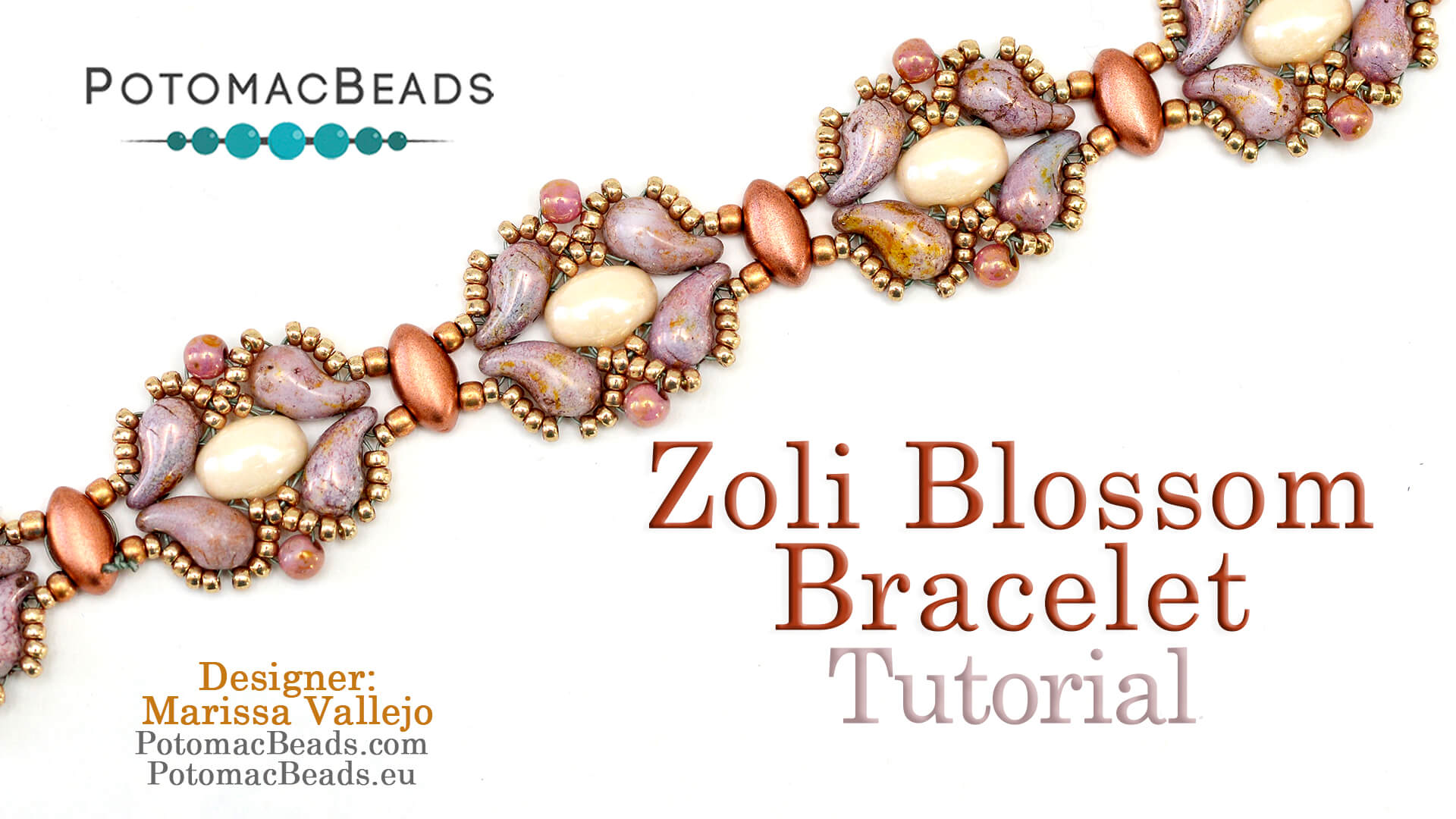 How to Bead / Videos Sorted by Beads / Pearl Videos (Czech & Freshwater) / Zoli Blossom Bracelet Tutorial