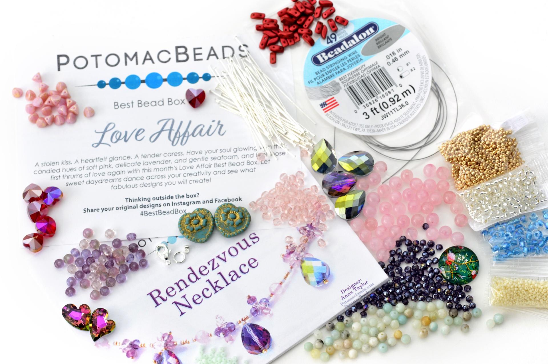Subscription Inspiration / Best Bead Box February 2021