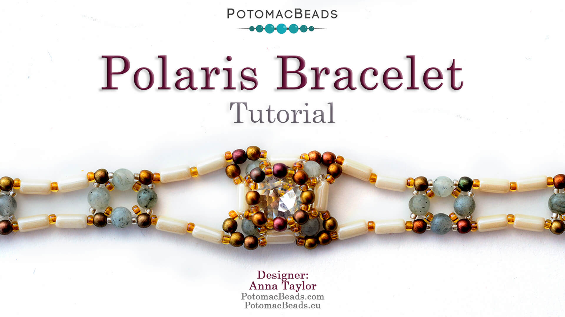 How to Bead Jewelry / Videos Sorted by Beads / Potomac Crystal Videos / Polaris Bracelet Tutorial