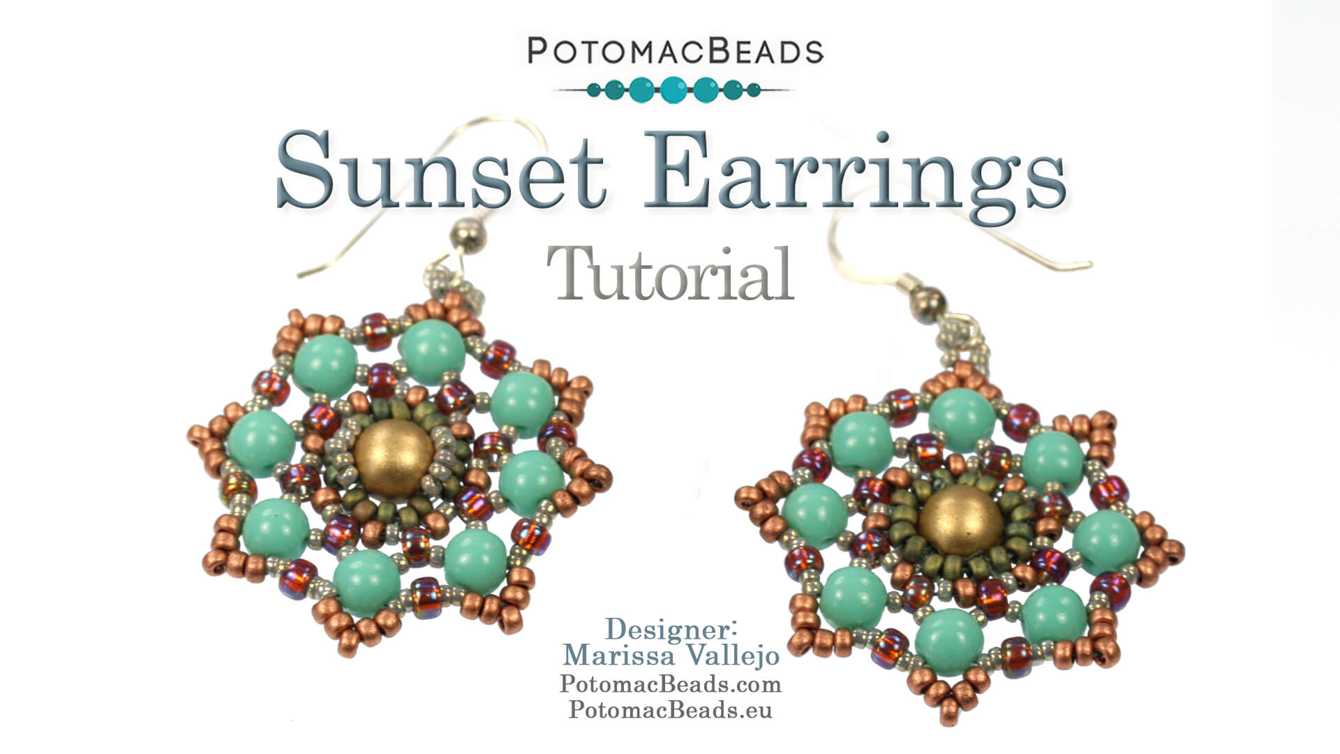 How to Bead / Free Video Tutorials / Earring Projects / Sunset Earrings or Component Tutorial