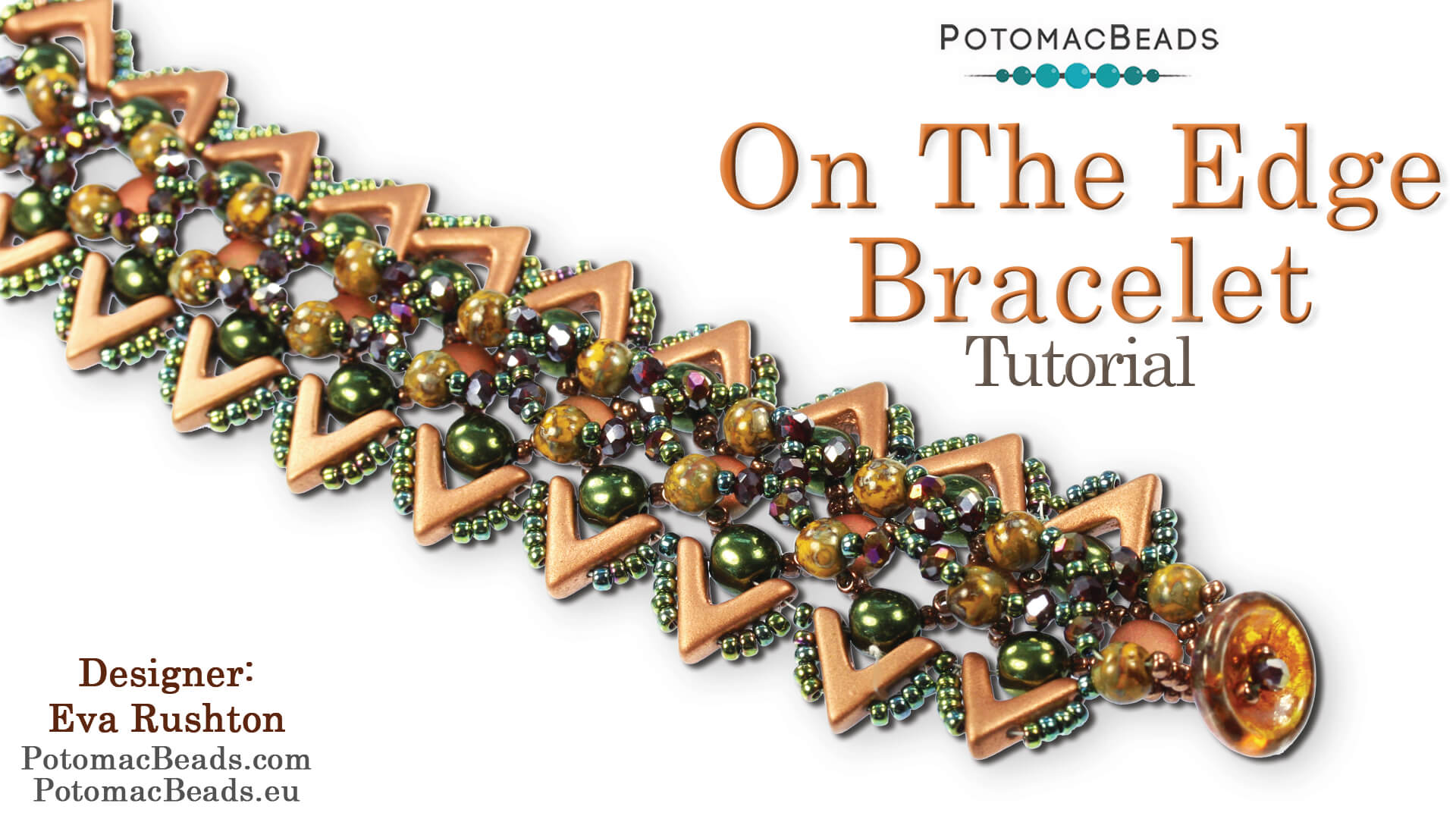 How to Bead / Free Video Tutorials / Right Angle Weave (RAW) Videos / On the Edge Bracelet Tutorial