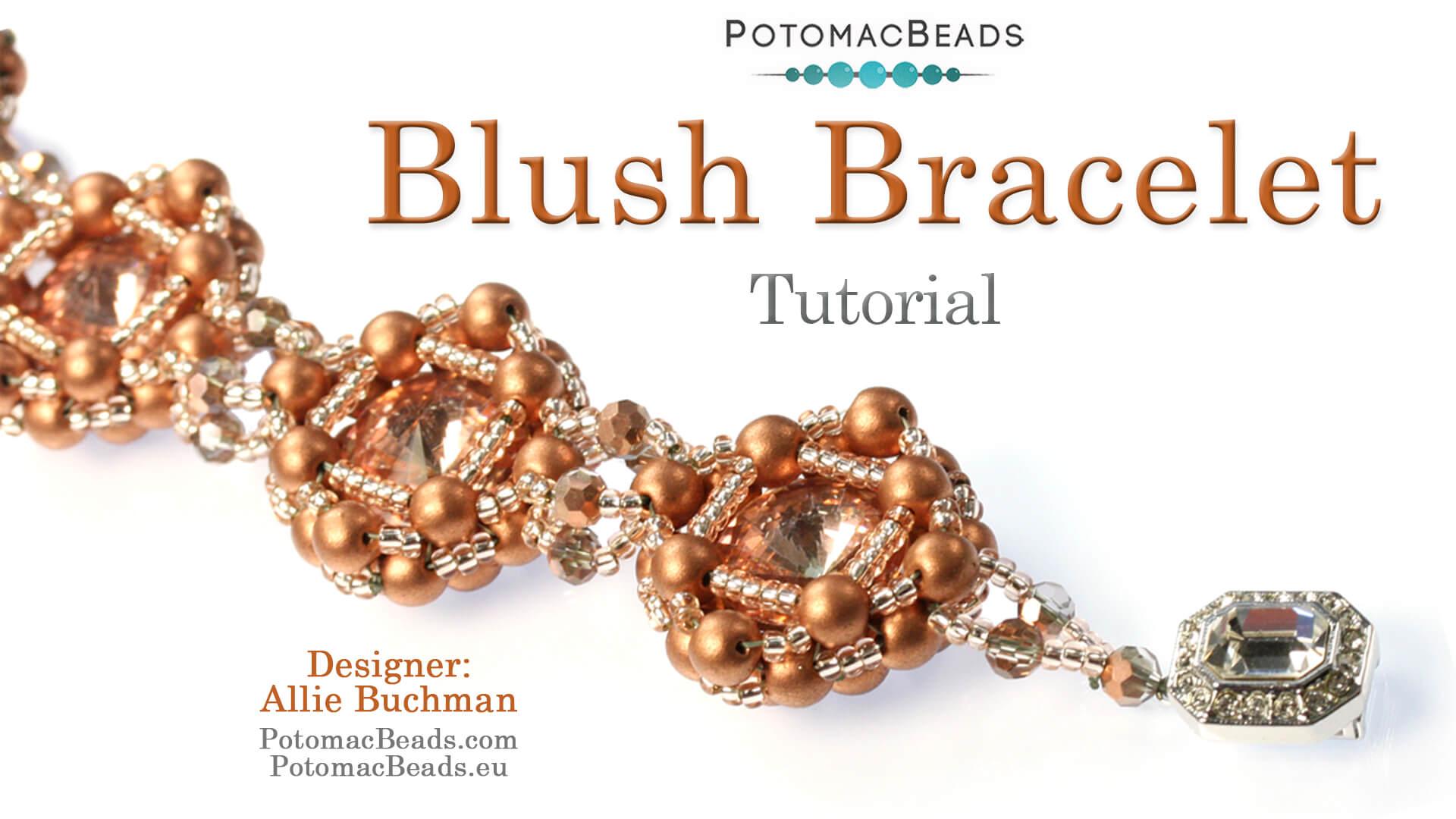 How to Bead / Free Video Tutorials / Netting Stitch Videos / Blush Bracelet Tutorial