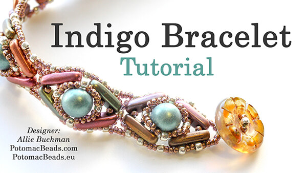 How to Bead / Free Video Tutorials / Free Form Videos / Indigo Bracelet Beadweaving Tutorial