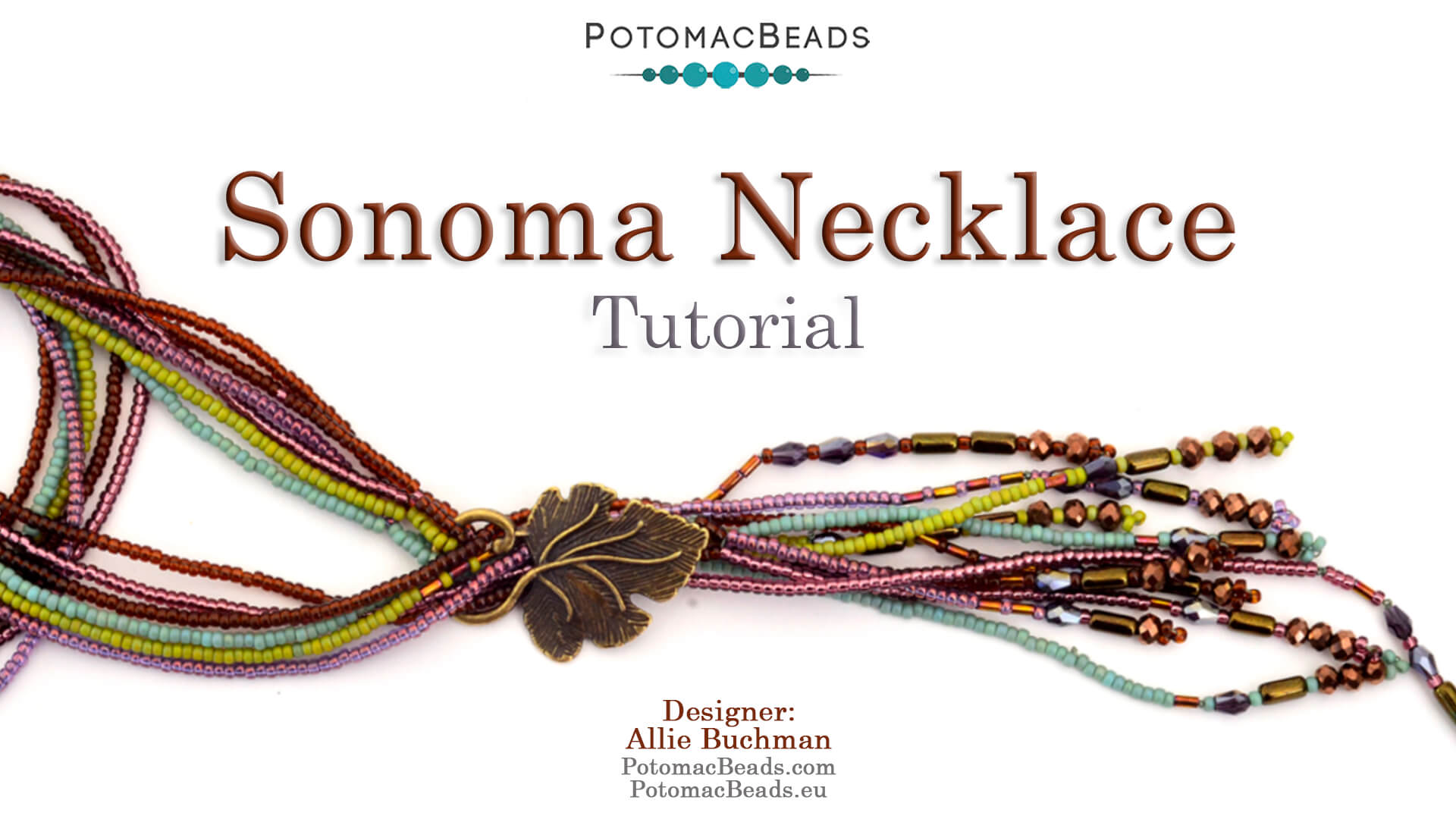 How to Bead Jewelry / Videos Sorted by Beads / Potomac Crystal Videos / Sonoma Necklace Tutorial