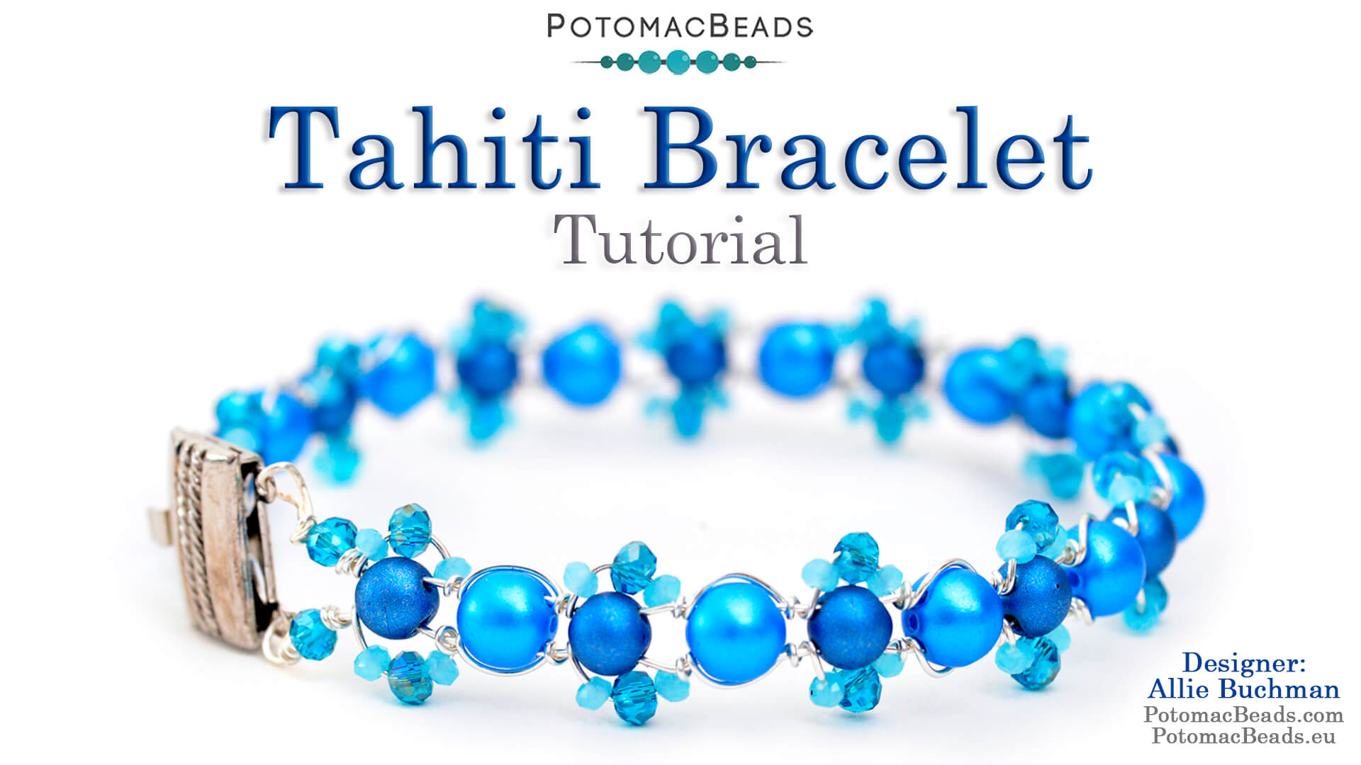 How to Bead Jewelry / Videos Sorted by Beads / Potomac Crystal Videos / Tahiti Bracelet Tutorial