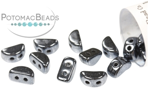 Czech Pressed Glass Beads / Czech Glass & Japanese Two Hole Beads / Kos® par Puca® Beads