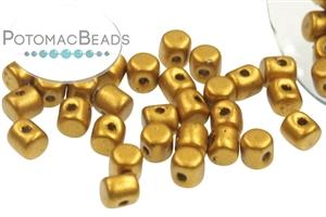Czech Pressed Glass Beads / 1-Hole Beads / Minos® par Puca® Beads