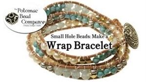 How to Bead Jewelry / Beading Tutorials & Jewel Making Videos / Bracelet Projects / Wrap Bracelet Tutorial