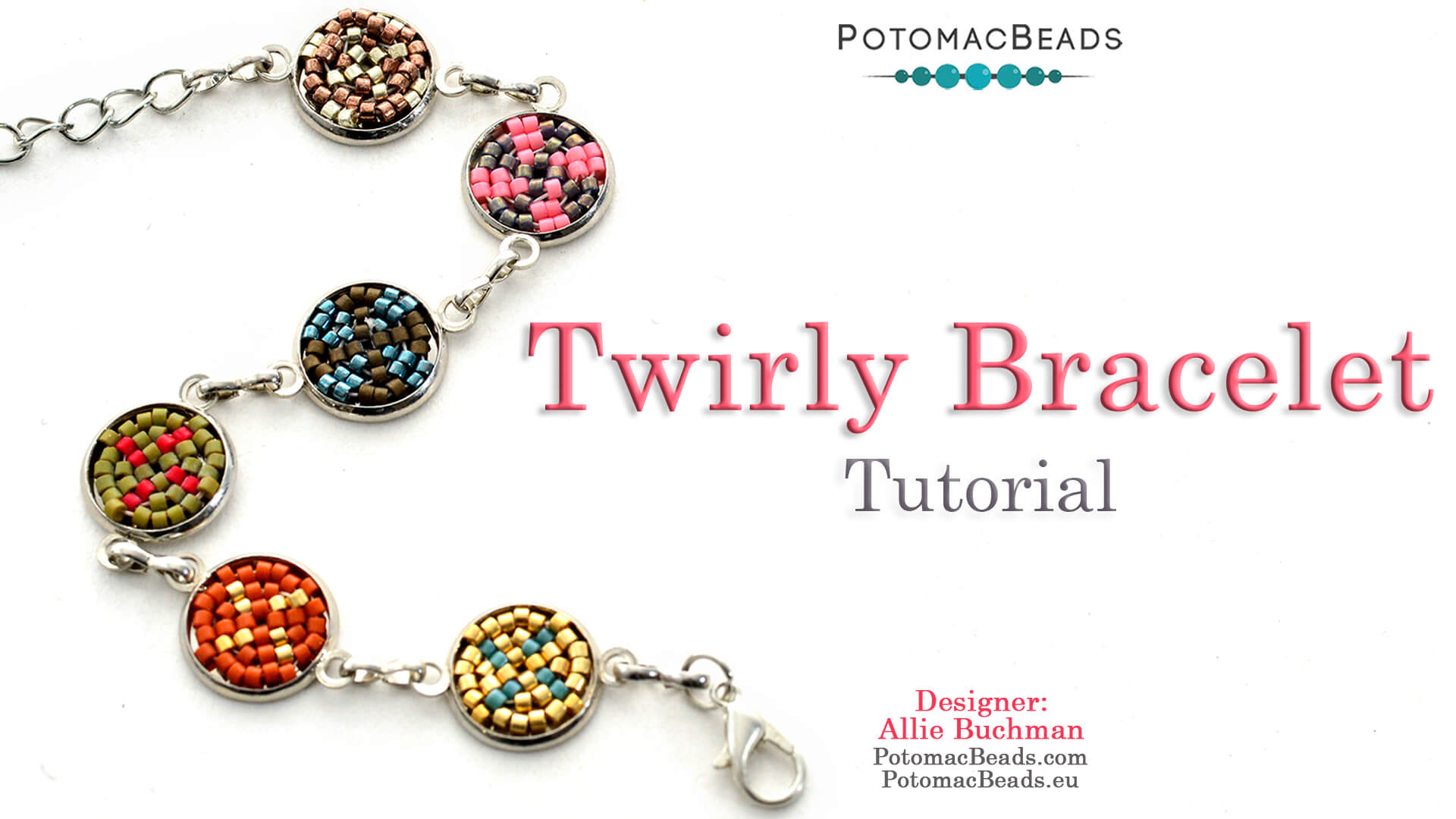 How to Bead / Videos Sorted by Beads / Seed Bead Only Videos / Twirly Bracelet Tutorial