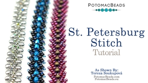 How to Bead / Free Video Tutorials / Basic Beadweaving Stitches / Saint Petersburg Stitch Tutorial