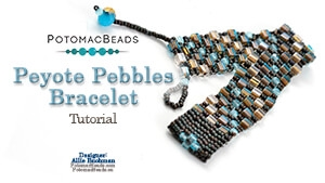 How to Bead / Free Video Tutorials / Basic Beadweaving Stitches / Peyote Pebbles Tutorial