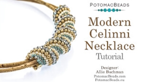 How to Bead / Free Video Tutorials / Basic Beadweaving Stitches / Modern Celinni Beadweaving Tutorial