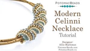 How to Bead Jewelry / Beading Tutorials & Jewel Making Videos / Basic Beadweaving Stitches / Modern Celinni Beadweaving Tutorial