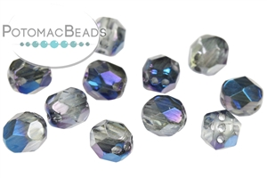Potomac Exclusive Czech Glass / RounTrio® Faceted Beads