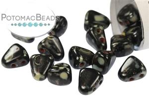 Czech Pressed Glass Beads / All Matubo Beads / Nib-bit