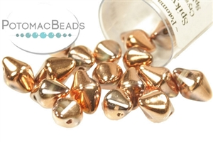 Czech Pressed Glass Beads / 1-Hole Beads / Spiky Button Beads