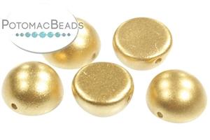 Czech Pressed Glass Beads / Dome Beads