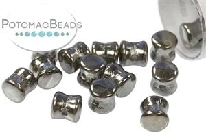 Czech Pressed Glass Beads / 1-Hole Beads / Pellet Beads