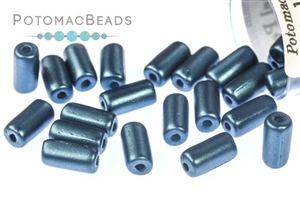 Czech Pressed Glass Beads / 1-Hole Beads / Tubelet Beads