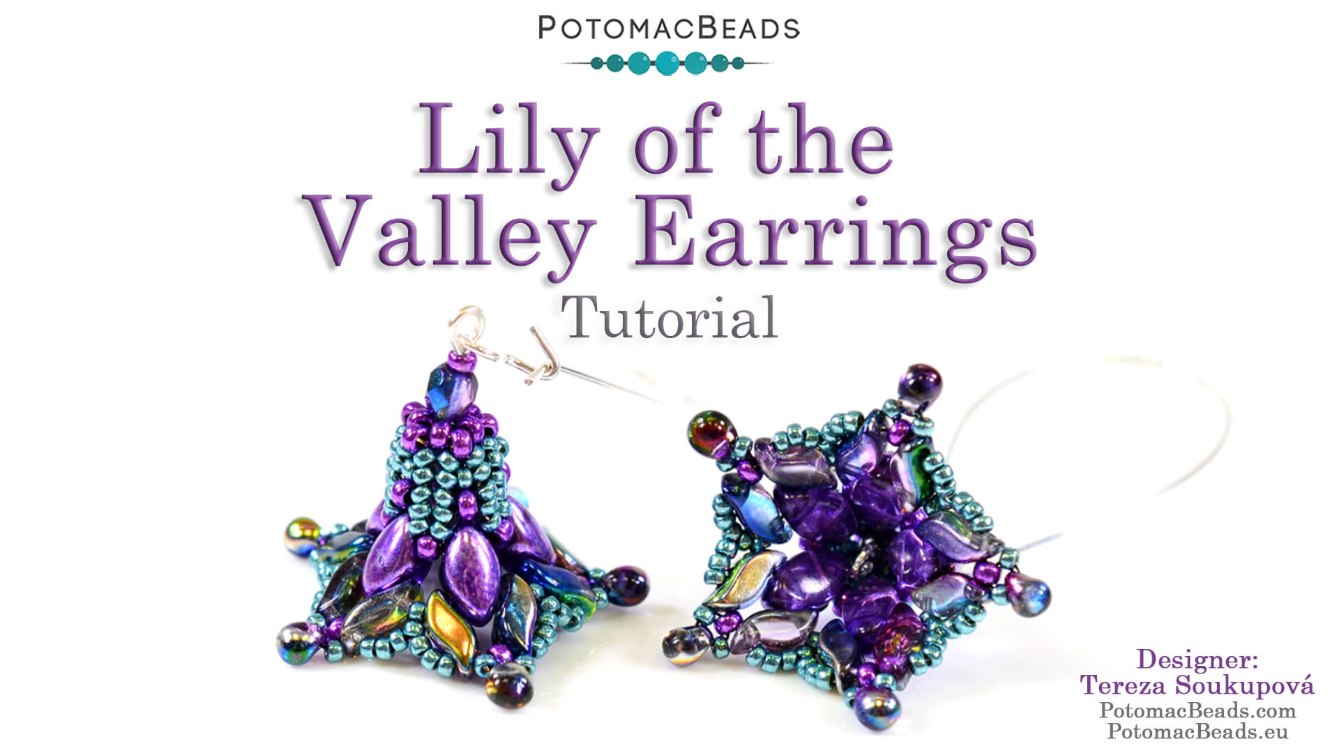 How to Bead / Free Video Tutorials / Earring Projects / Lily of the Valley Earrings Tutorial
