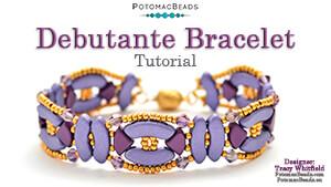 How to Bead / Free Video Tutorials / Bracelet Projects / Debutante Bracelet Tutorial