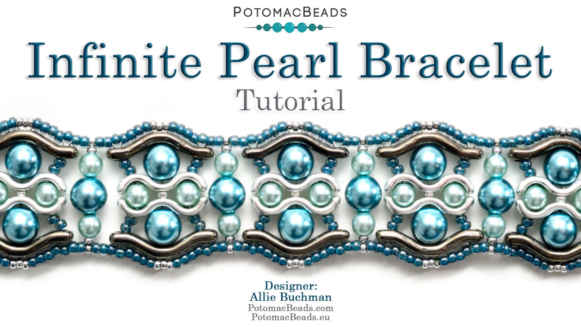 How to Bead / Free Video Tutorials / Bracelet Projects / Infinite Pearl Bracelet Tutorial